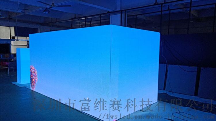 深圳科技显示屏软性节能led显示屏电子高清屏幕播放144106215