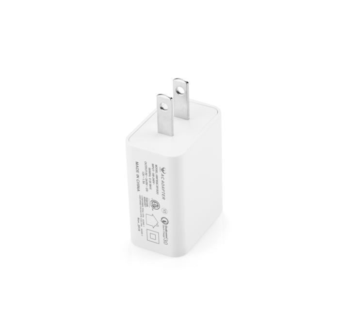 QC3.0快充美国插脚,过UL认证充电器153169405