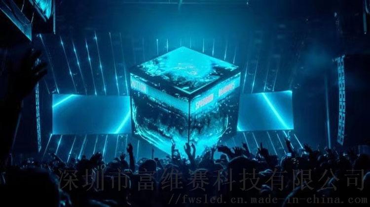 深圳科技显示屏软性节能led显示屏电子高清屏幕播放144106245