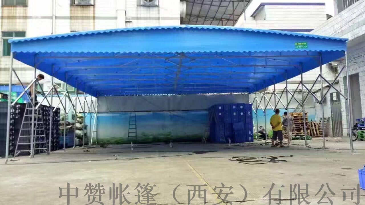 西安厂家定做推拉雨棚移动帐篷遮阳棚夜市摊棚子140501115