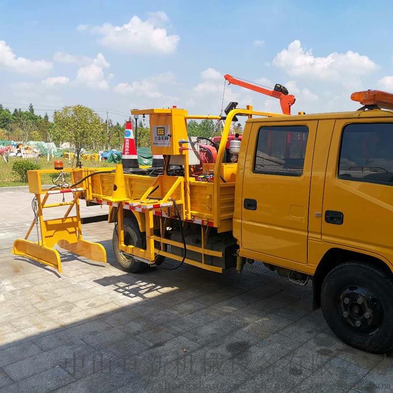 亘新机械自动路锥收放机安全锥桶摆放机交通锥收放机952428485