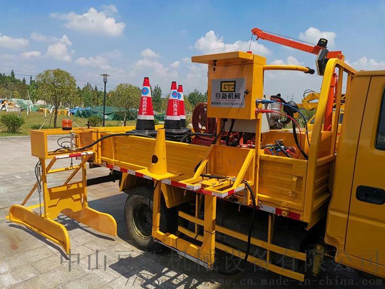 亘新机械自动路锥收放机安全锥桶摆放机交通锥收放机153788615