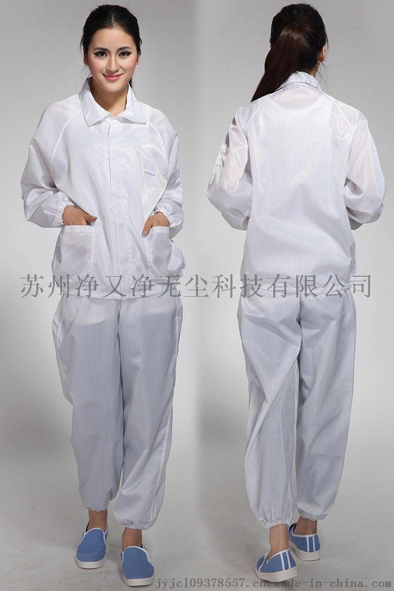 苏州防静电服厂家,防静电无尘服,防静电分体连帽服,65100185