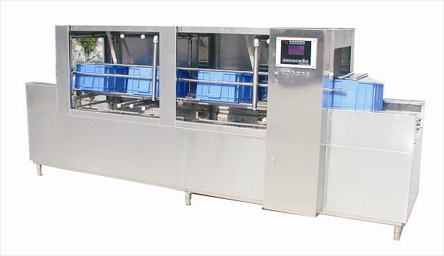 厂家直销全自动周转箱清洗机,超低价销售一年质保629625