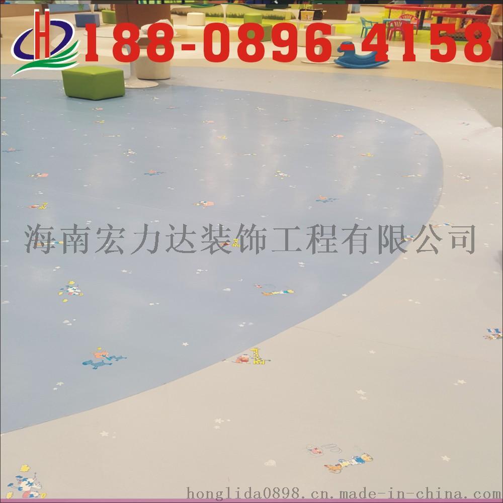 pvc施工队,海南宏力达,专业地板胶工程731197245