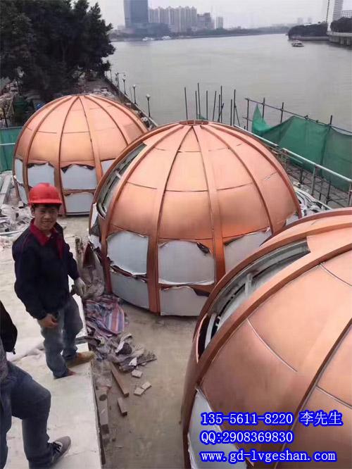 造型铝单板厂 造型氟碳铝单板 球形铝单板图片.jpg