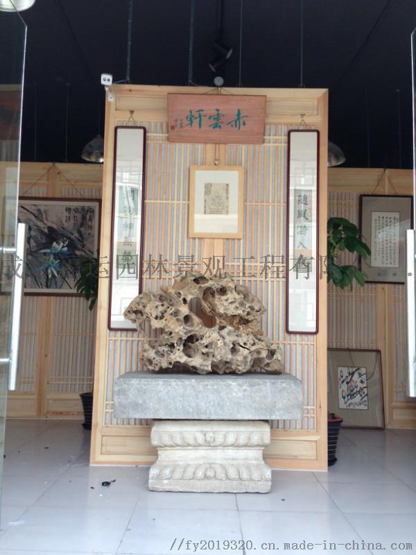 四川仿古门窗博古架厂家实木雕花挂件茶楼装修124532605