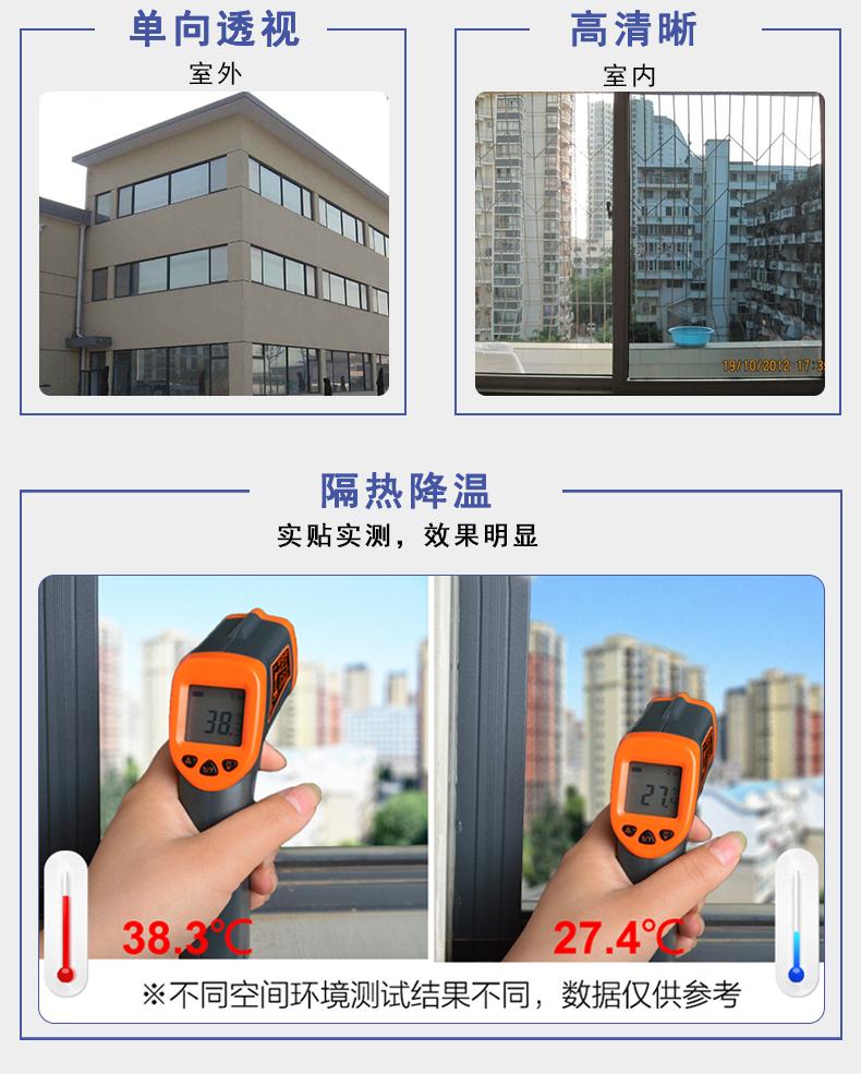 写字楼隔热防晒玻璃膜隔紫外线过滤强光防爆膜148612515