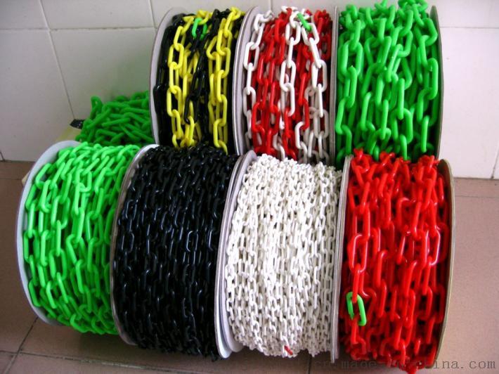 交通塑料链子链条封闭 示红白路锥塑胶安全工业扣环939567275