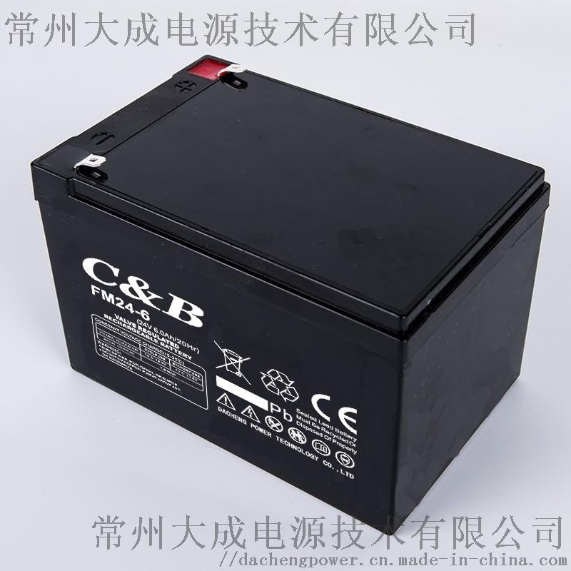 九华24V6AH蓄电池门控电池割草机电瓶 童车电池956260985