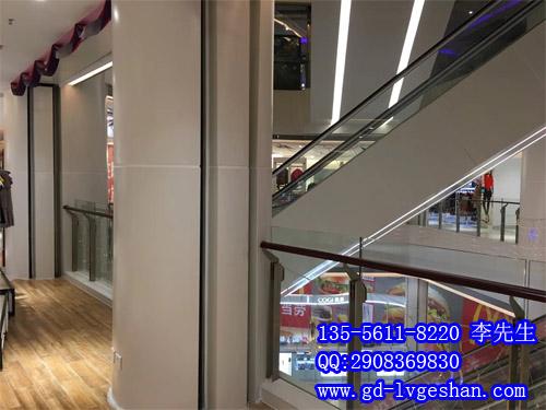 商城自动扶梯铝板装饰 定做电梯铝单板 包柱铝单板图片.jpg
