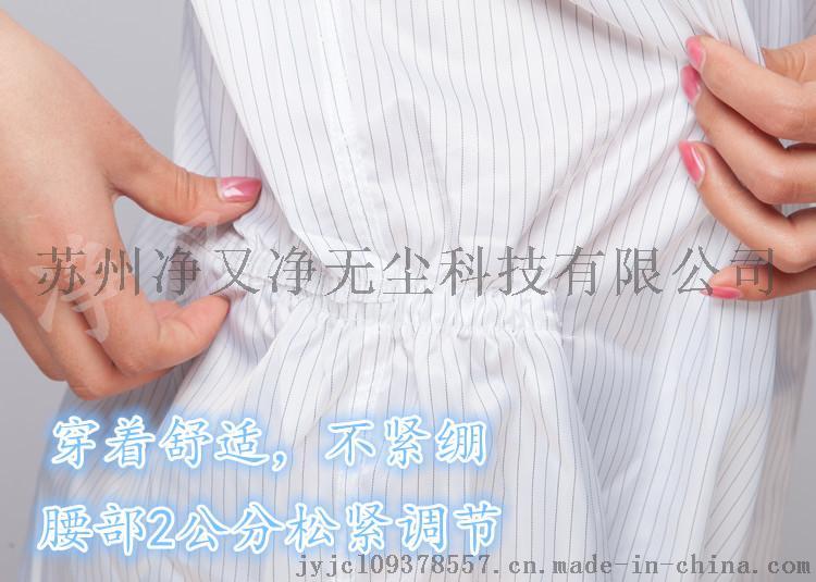 防静电连体工作服,条纹导电丝防静电服生产厂家,65117915