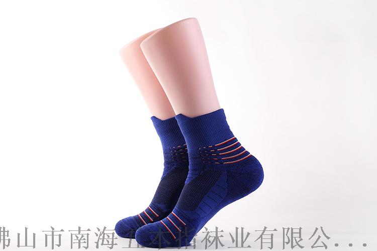 广东专业运动袜加工定制厂家代工毛圈篮球袜135803735