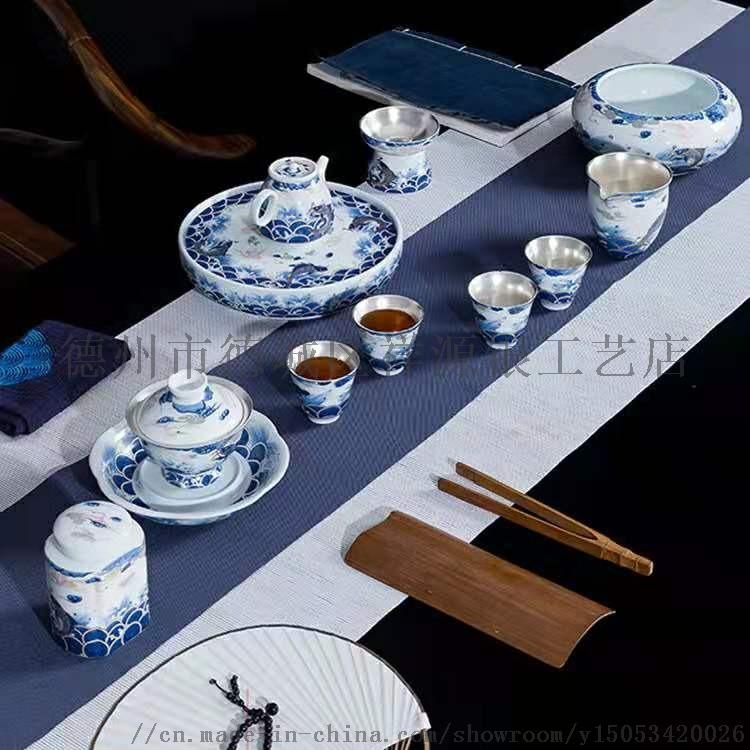 瓷鎏银宫瓷茶具A德州瓷鎏银宫瓷茶具A瓷鎏银宫瓷茶具直销819706282