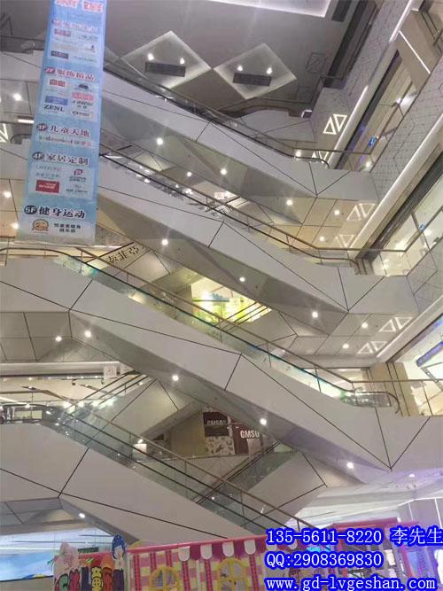 定做大型商场扶梯装饰铝板 扶梯铝单板装饰.jpg