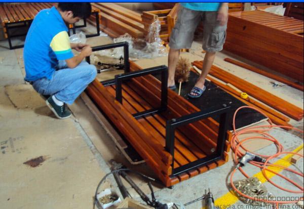 厂家生产定制实木公园长椅户外休闲长椅花......671955595
