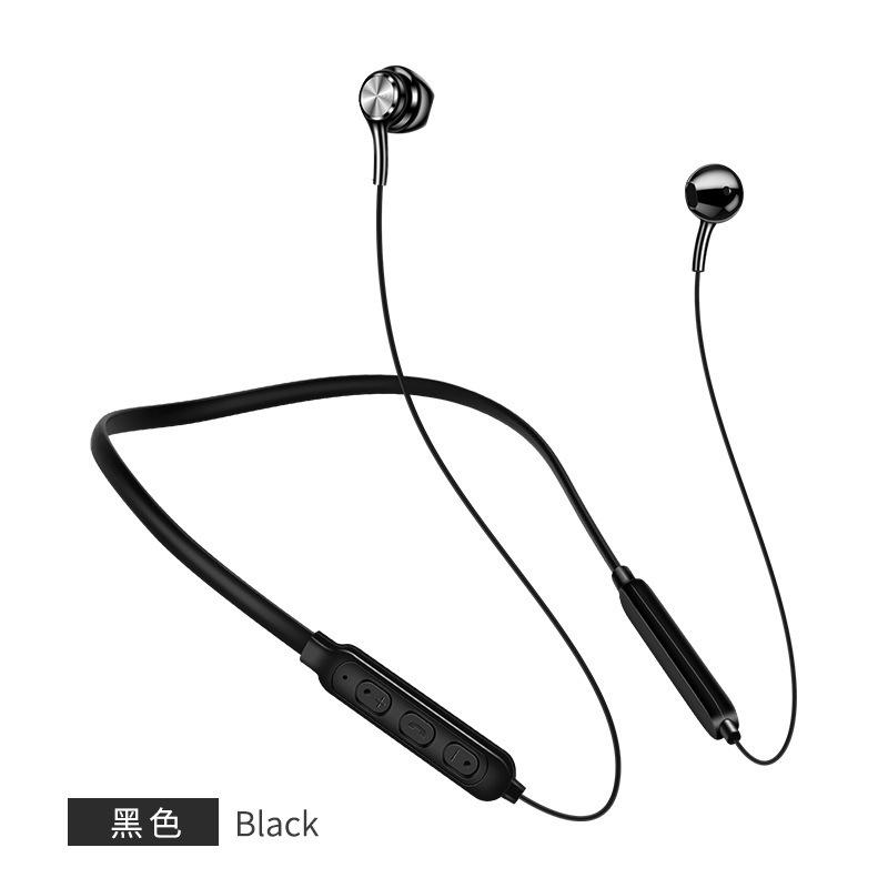 无线跑步运动蓝牙耳机挂耳4.2 颈挂脖式头戴智能磁吸耳机129473072