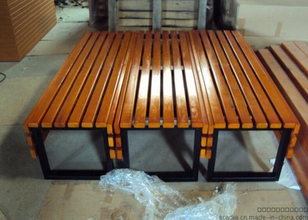 厂家生产定制实木公园长椅户外休闲长椅花......671955585