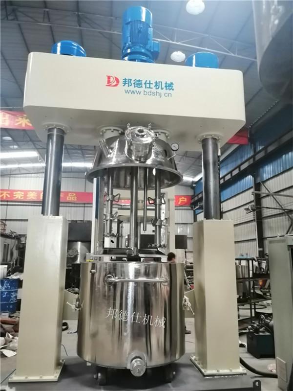 河北1100L强力分散机 中性硅酮耐候胶生产设备899014755
