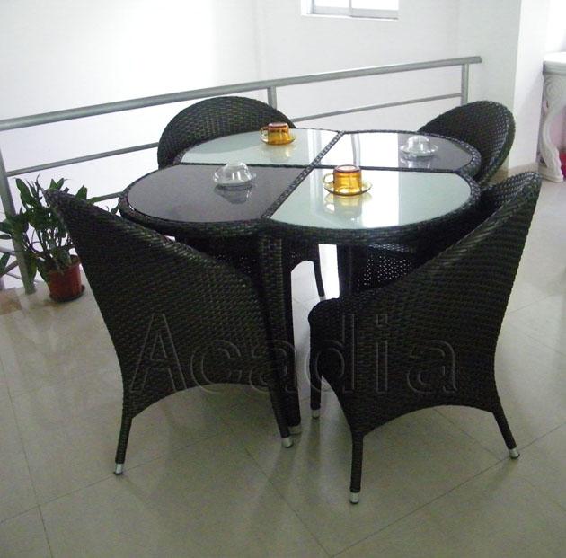 编藤餐桌椅(AC-RF26)619658552