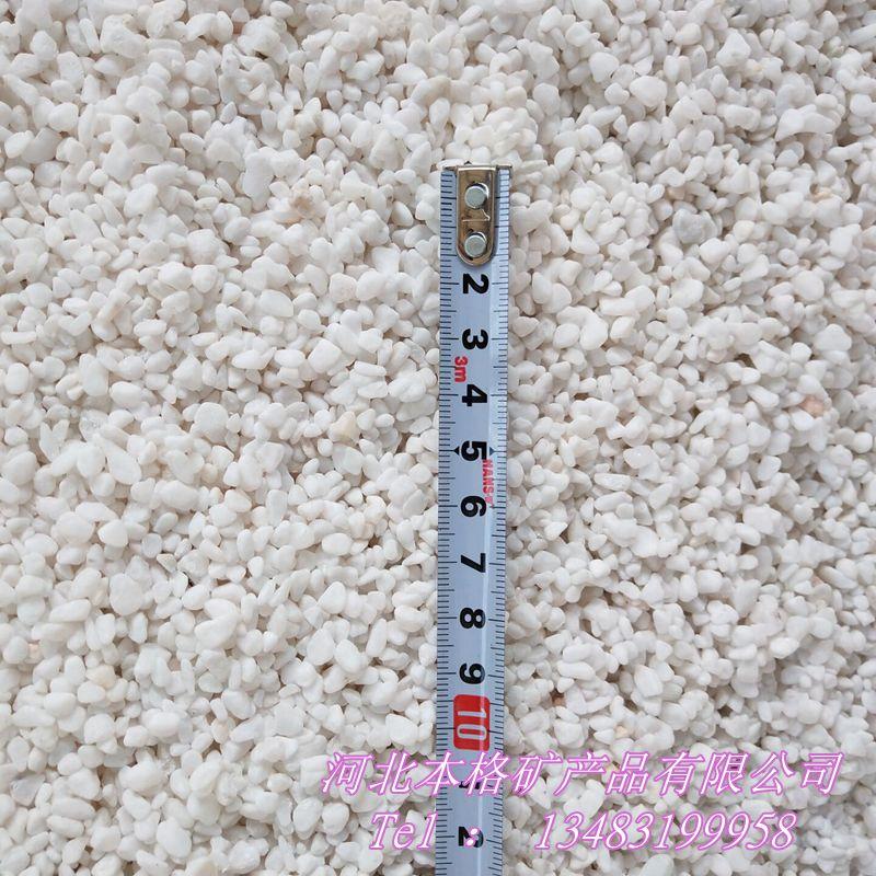 白石子厂家 白色鹅卵石 别墅园林铺路用白石子133870275