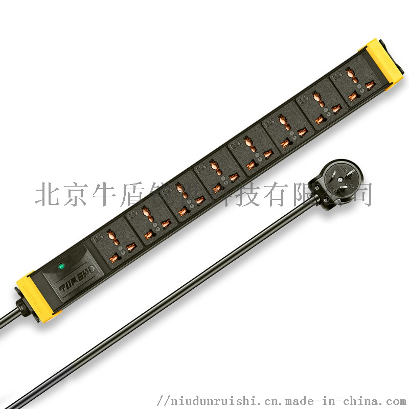 突破pdu电源6位8口10A16A机柜机架插排插座836607112