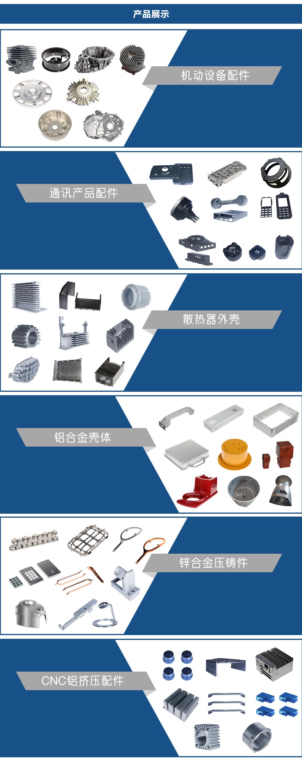 深圳我厂压铸散热器外壳,铝合金散热器150638105