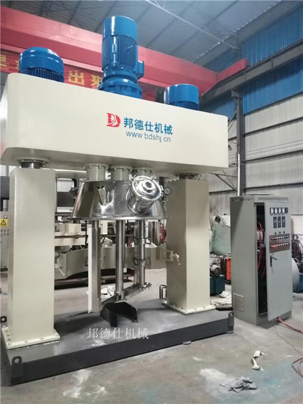 河北1100L强力分散机 中性硅酮耐候胶生产设备899014725