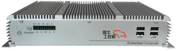 顺牛嵌入式工控机EMC-C001低功耗无风扇J1900处理器43704755
