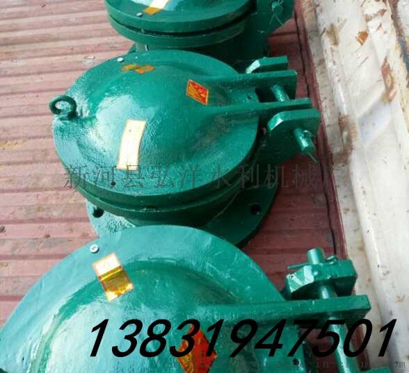 DN1200铸铁拍门排污管道口1200106436455