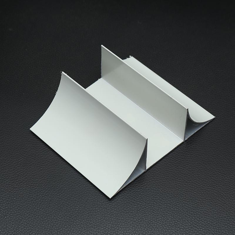 金诚净化铝材50槽带双内圆双R槽铝合金型材118376132