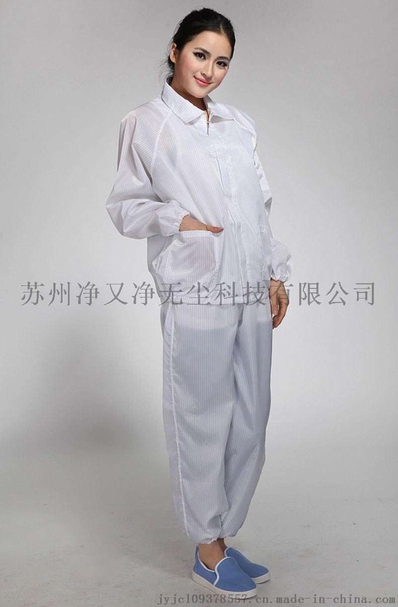 苏州防静电服厂家,防静电无尘服,防静电分体连帽服,65100175