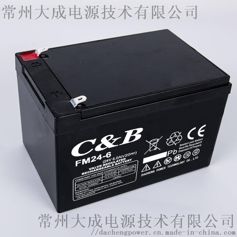 九华24V6AH蓄电池门控电池割草机电瓶 童车电池956260965