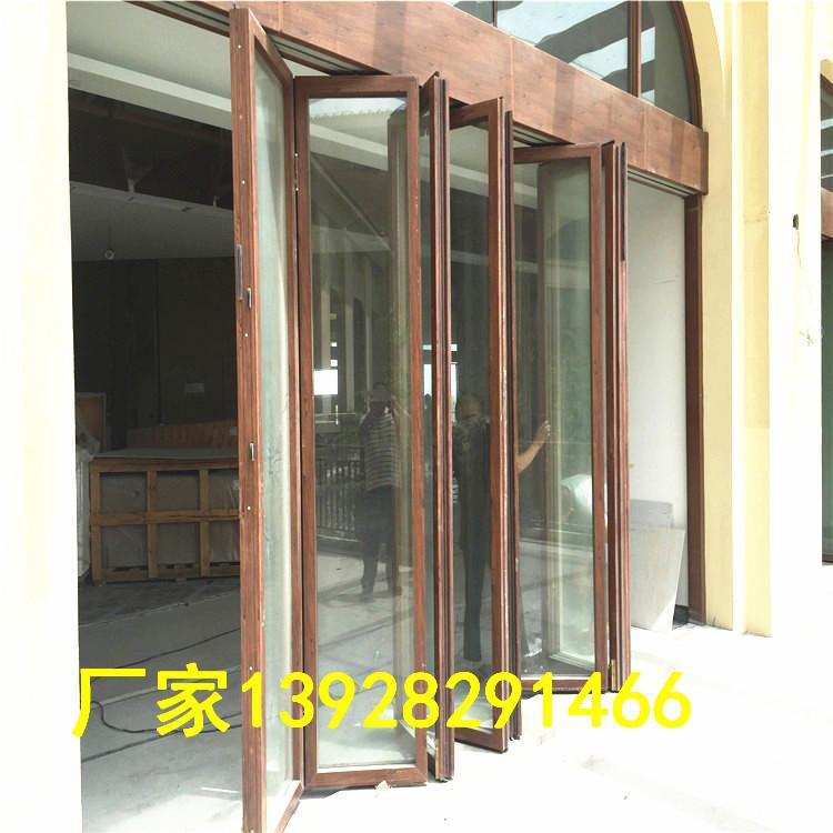 厂家移动玻璃隔断墙 钢化玻璃活动隔断 有框玻璃折叠门851184595