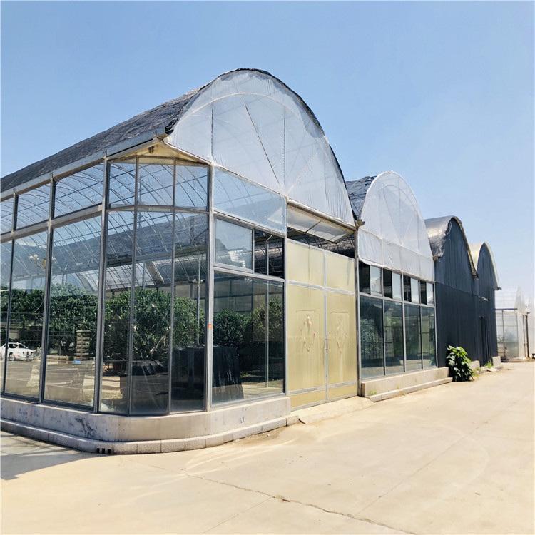 薄膜温室建设施工 连栋薄膜温室大棚造价预算846743012