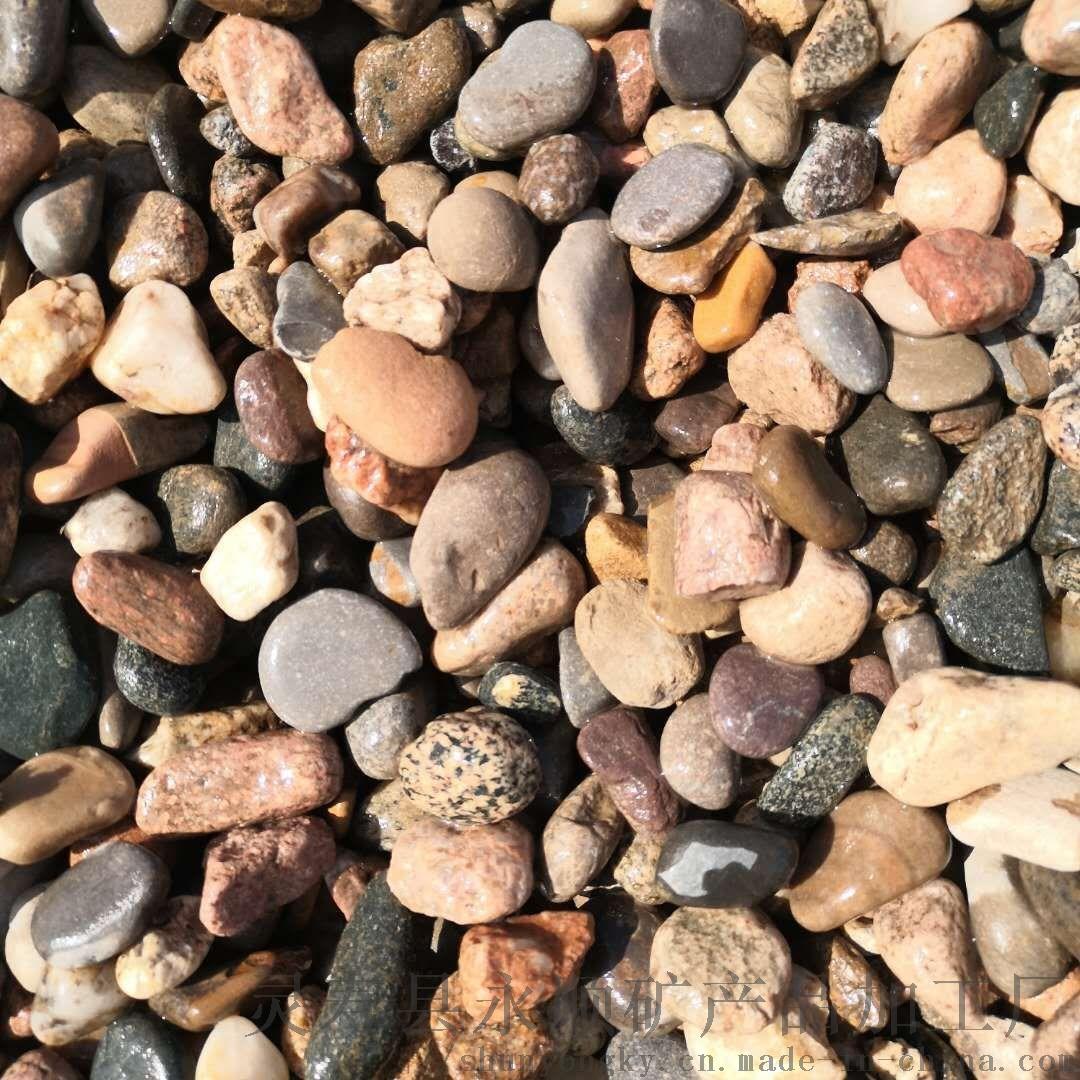 新乡天然鹅卵石   永顺杂色鹅卵石大量生产