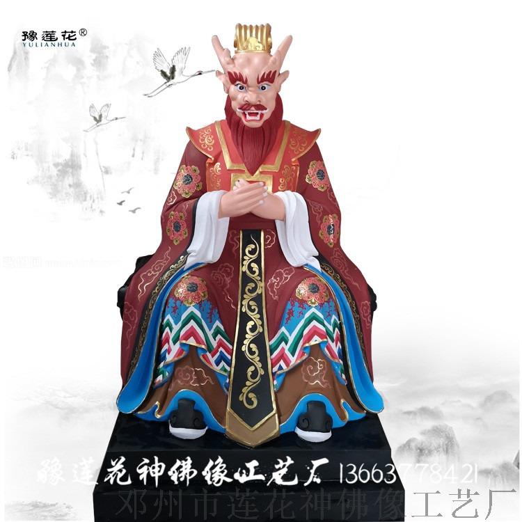 河南雕塑厂家夜叉神像龙女佛像井海王神像