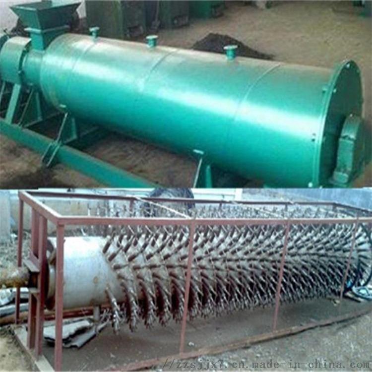 复合肥搅齿造粒线 内外旋二合一造粒机 1米新型有机肥造粒机