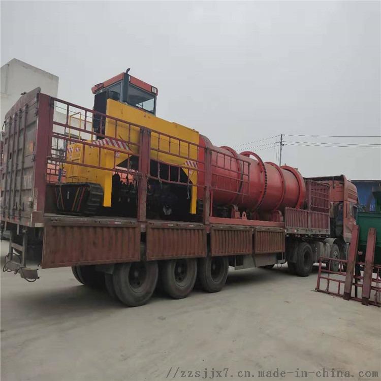猪粪有机肥生产设备 牛粪有机肥生产线 环保5000-1000吨生产线鸡粪有机肥一整套设备