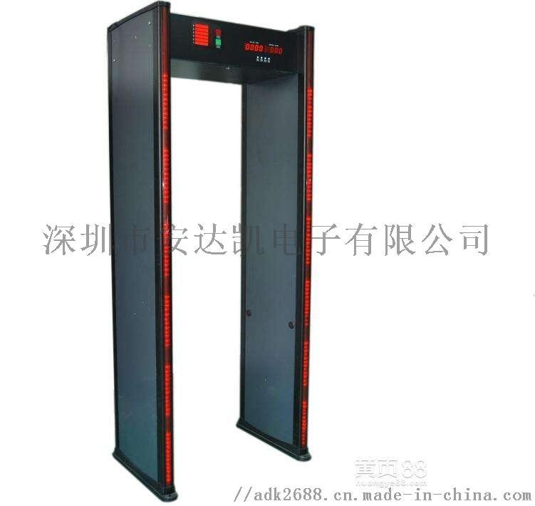 雲南機關測溫門廠家 紅外計數測溫安檢機關測溫門