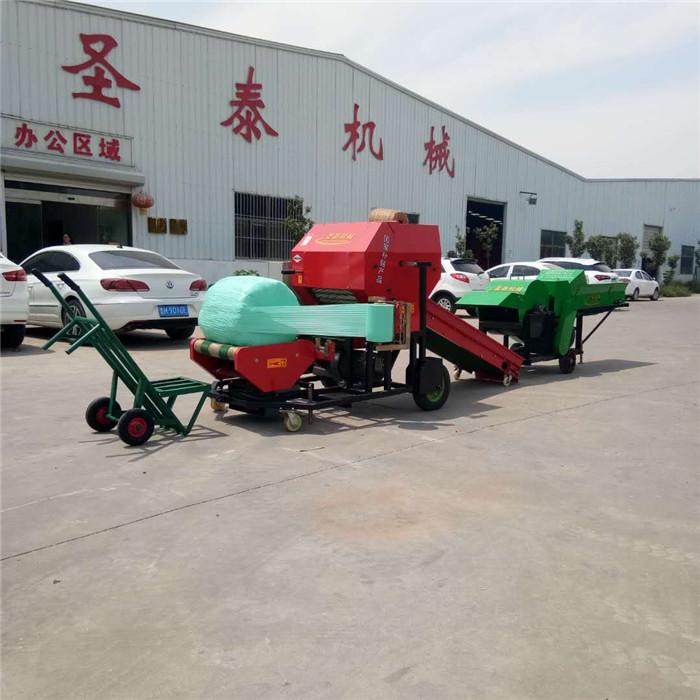 湖南湘西圆草捆打捆机 青储玉米秸秆打捆机批发价格