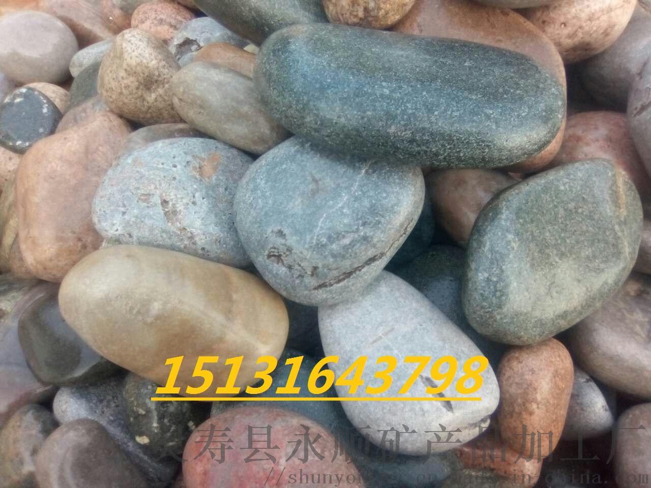 安阳8-12公分鹅卵石   永顺驳岸鹅卵石供应