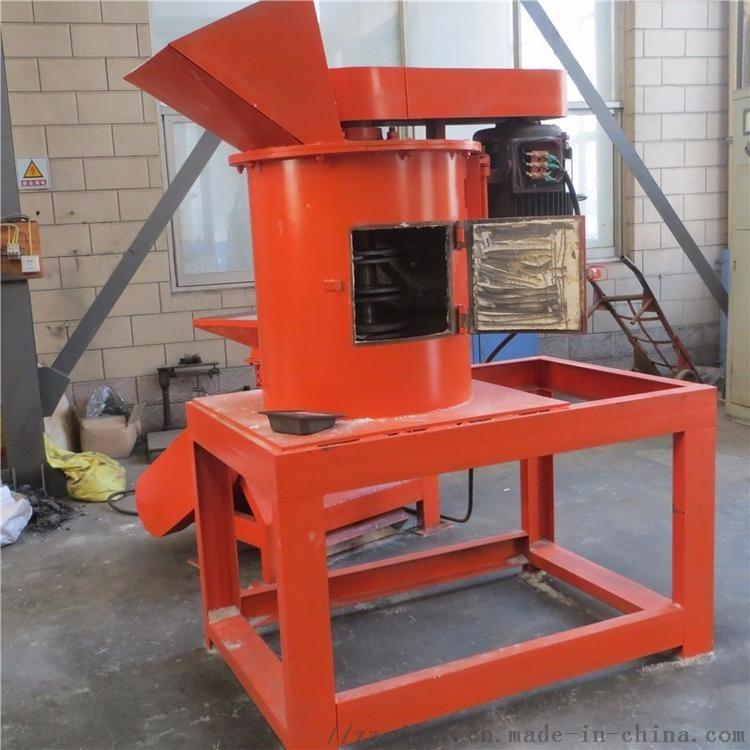 肥料块污泥饼土块粉碎机 粪便立链式粉碎机 有机肥生产线链板粉碎机