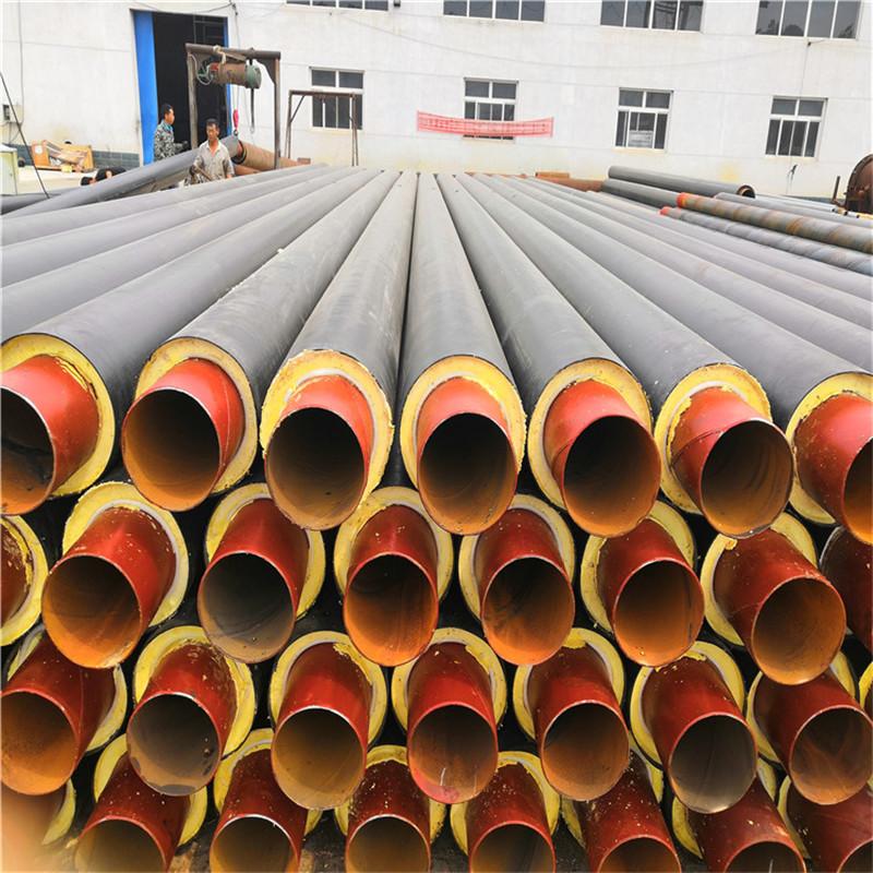 果洛鑫龙日升DN150/165塑套钢预制直埋保温管