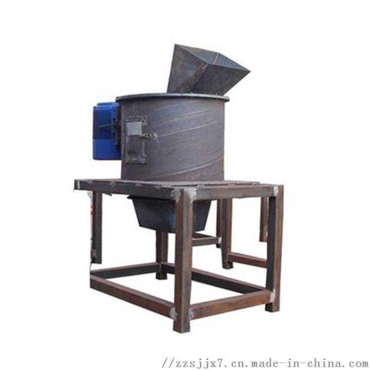 粪便垃圾蚯蚓粪粉碎设备 立式链式粉碎机单转子 多层粉碎链式加刀片粉碎机