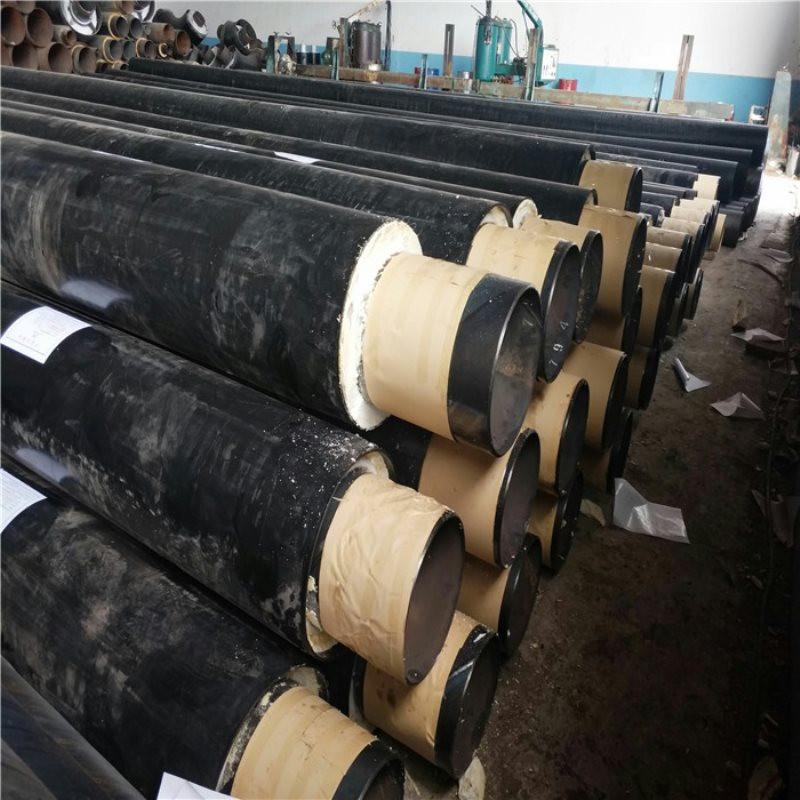 钢塑预制直埋保温管 DN50/60聚氨酯保温钢管通化