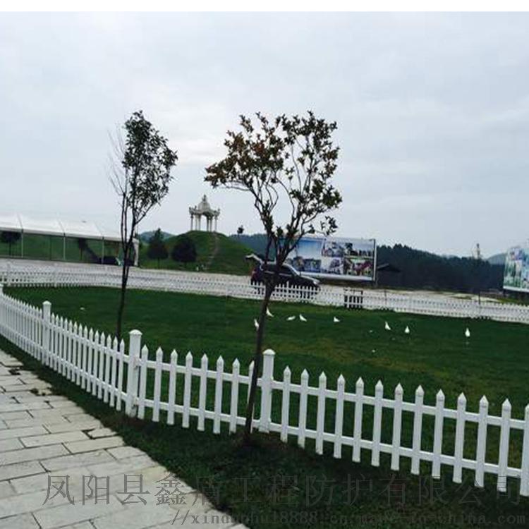 甘肃嘉峪关绿化护栏 乡村pvc草坪护栏