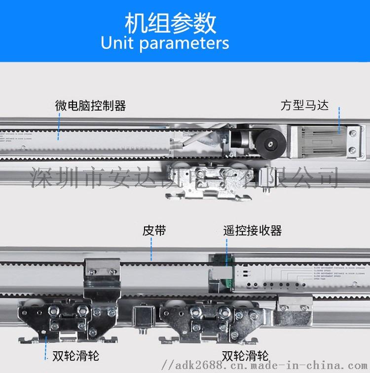 广州荔湾玻璃自动门 红外探测防撞人 玻璃自动门厂家
