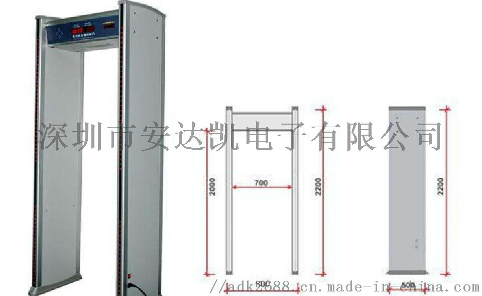 廣東寫字樓測溫門廠家 紅外計數測溫安檢寫字樓測溫門