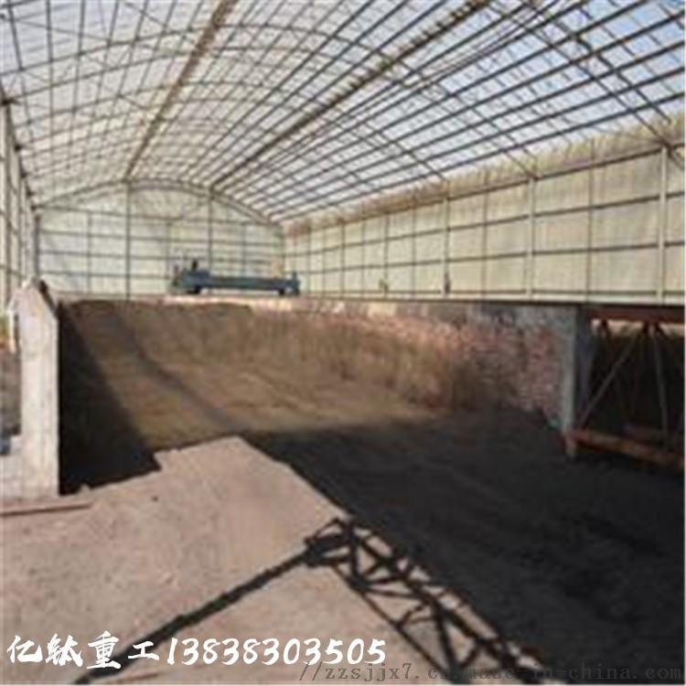 牛粪生产设备工艺 蚯蚓有机肥生产线 年产1万吨有机肥设备